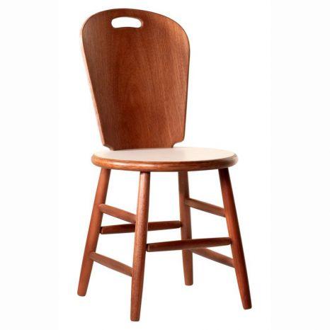 Cadeira São Paulo com Assento Fórmica Branca