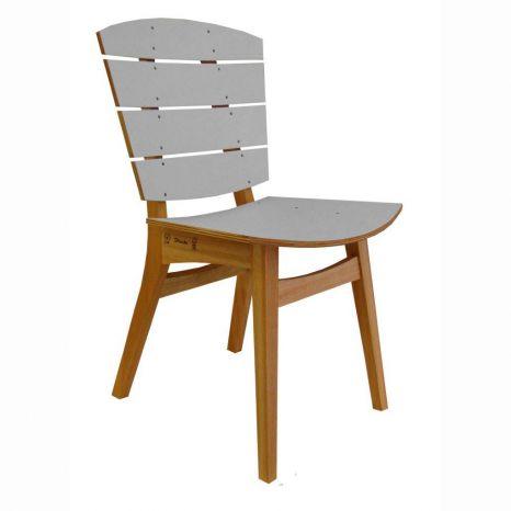 Cadeira Rio - PET Cinza