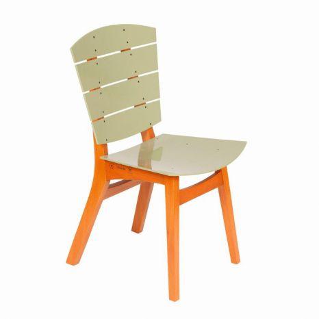 Cadeira Rio - Acrílico Verde Oliva