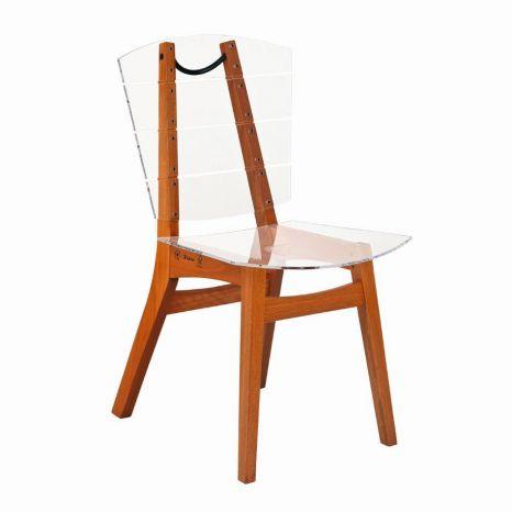 Cadeira Rio - Acrílico Cristal