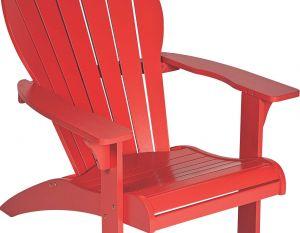Cadeira Adirondack Adeli - Laca Vermelho