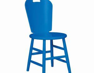 Cadeira São Paulo - Laca Azul Safira