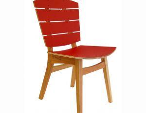 Cadeira Rio - PET Vermelho