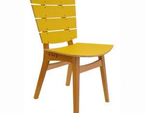 Cadeira Rio - PET Amarelo