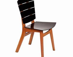 Cadeira Rio - Acrílico Preta