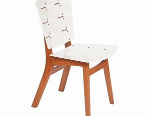 Cadeira Rio - Acrílico Branco