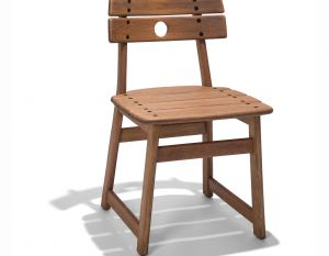 Cadeira Tajá - Stain Jatobá