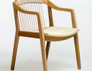 Cadeira Imirá com Braços - Encosto Corda