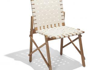 Cadeira Maresias sem Braços - Percinta Bege